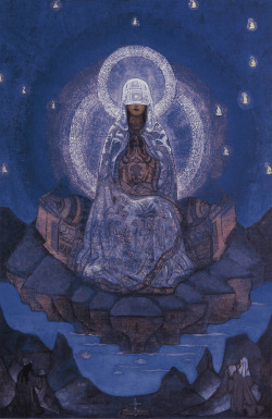 abystle:  Mother of the World by Nicholas Roerich