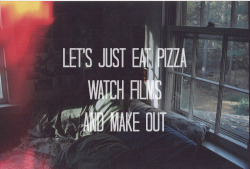 highesthopess:  Pizza and cuddle <3 | via Tumblr on We Heart It. http://weheartit.com/entry/61090822/via/ijustloveyoudonut