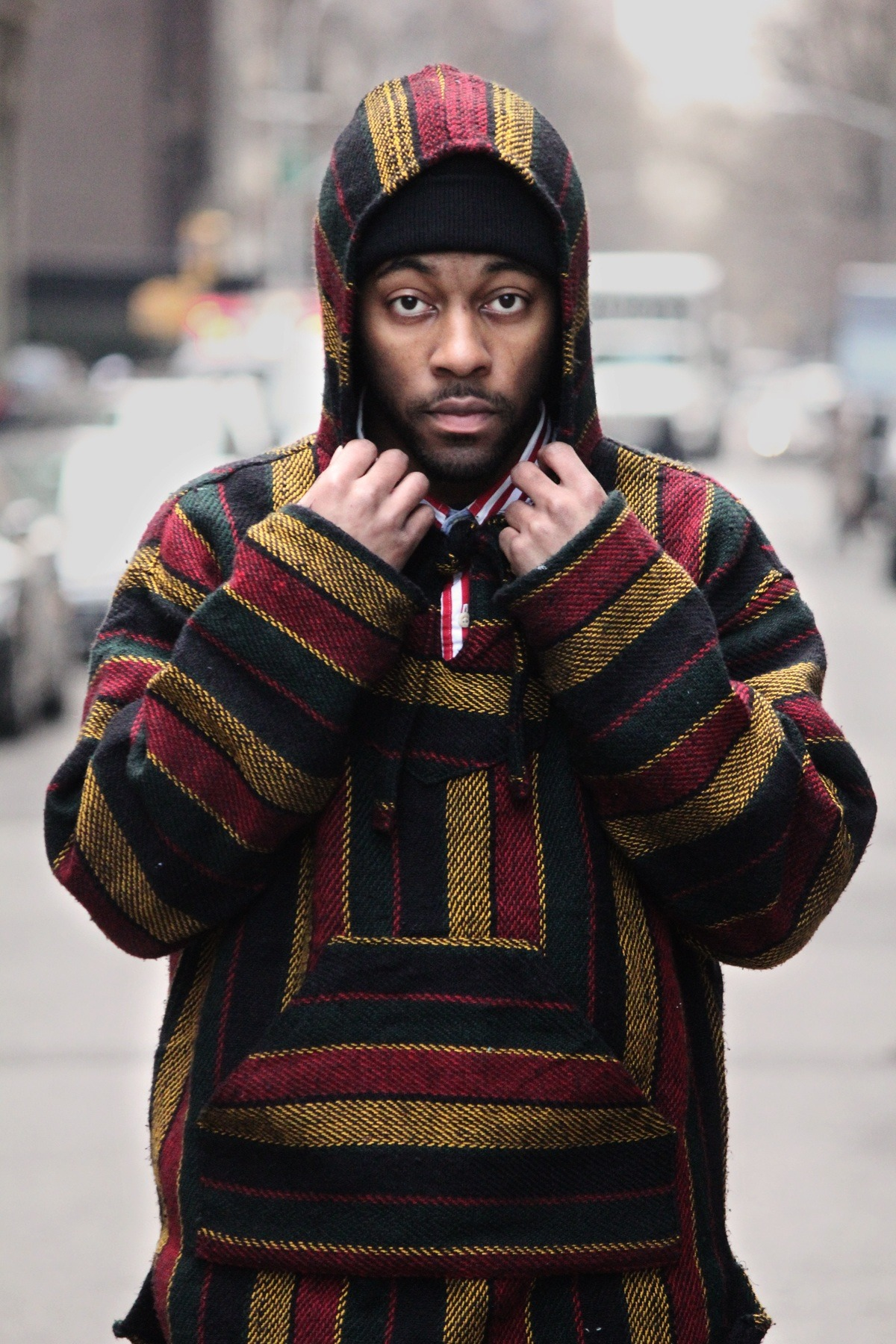 blackfashion:  Nino skyz  Soho (new York ) Ig: ninoskyz  @ninoskyz Photographed by @aagdolla  Ynrsia.tumblr.com Aagdolla.tumblr.com