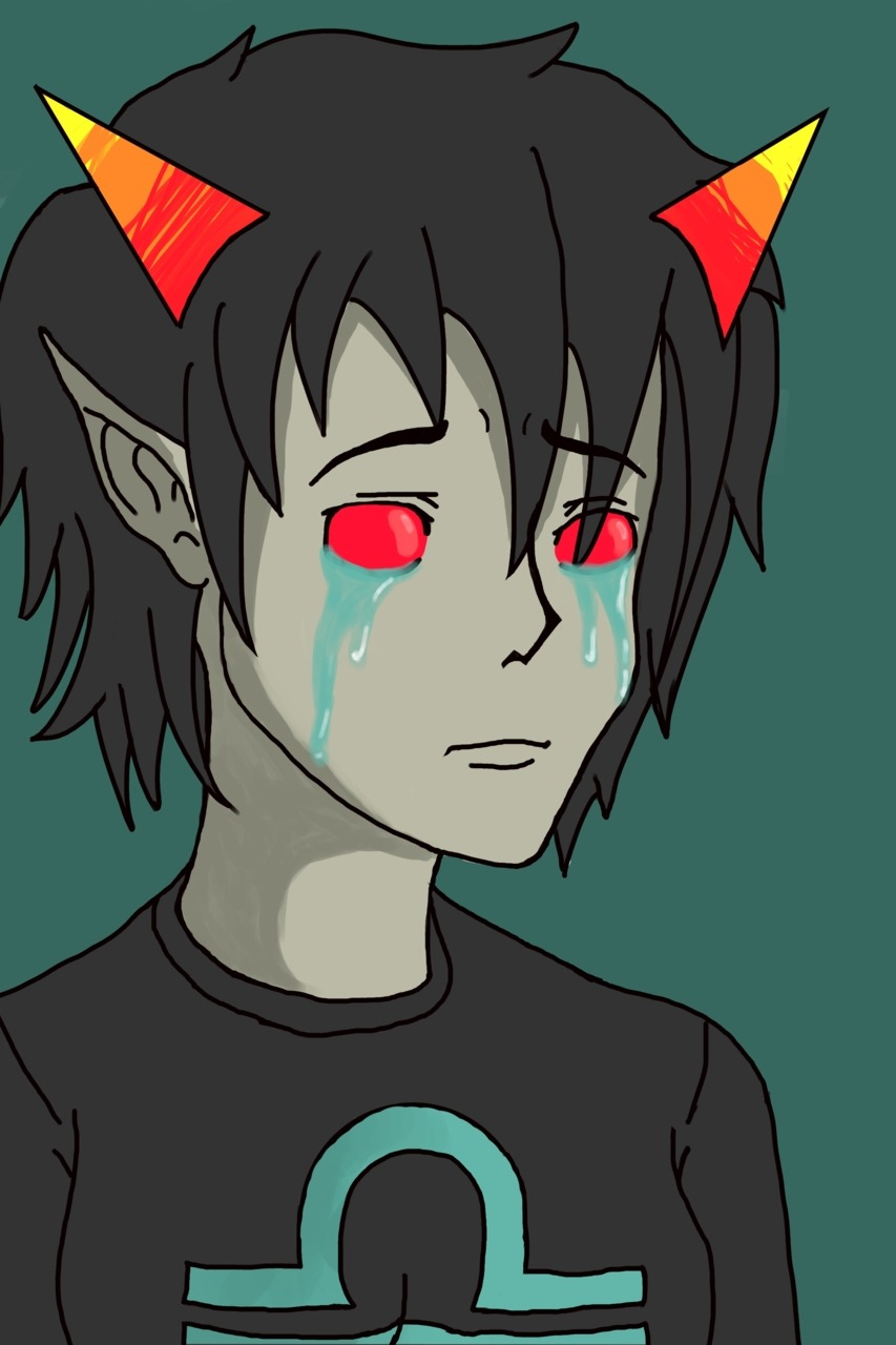 Terezi crying