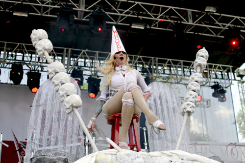 Maria Brink from In This Moment April 27th, Jacksonville, Florida