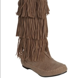 I just added this to my closet on Poshmark: Suede fringe boots - wet seal. (http://bit.ly/10dL6Z7) #poshmark #fashion #shopping #shopmycloset