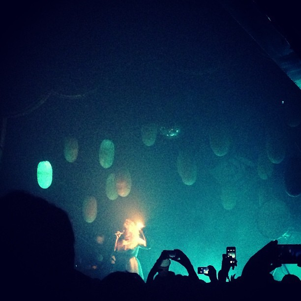 portugaltheman:  Purity Ring at Bowery Ballroom