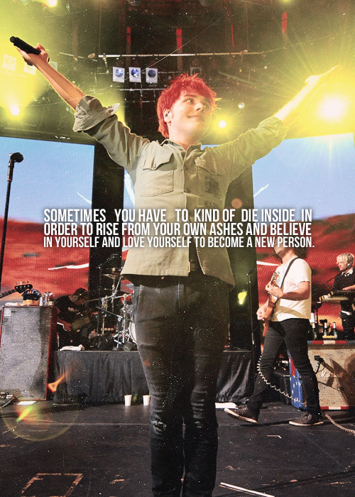 favorite gerard way quotes ↣ [4/5]