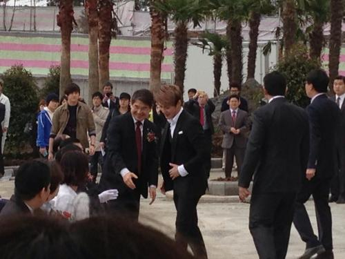 Junsu - Tuscany Hotel Ribbon Cutting Ceremony Credit: Xiaholic0420