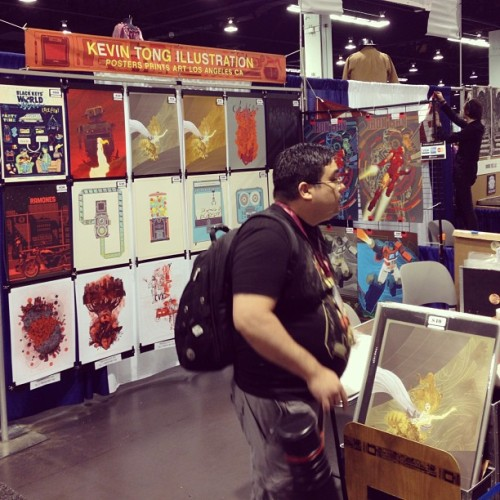 Kevin Tong Illustration at Wondercon, booth 580. FUN HAPPENS!!! #wondercon