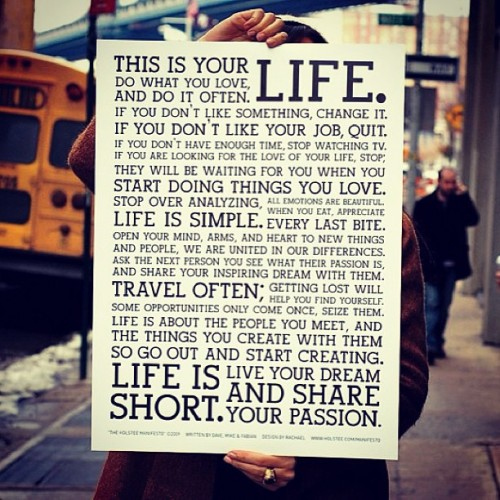 This is you your life. #picture #Inspiration