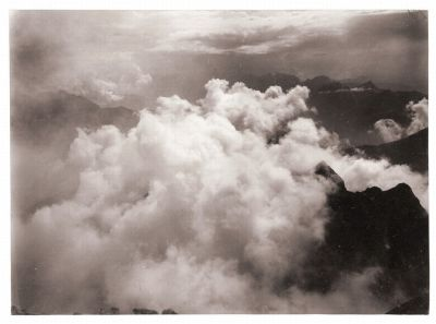 yama-bato:  Le Journal de la Photographie   Cloud Studies Albert Riggenbach Cumulus, Basle, around 1895 © Swiss National Museum, Zurich