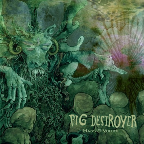 "Pig Destroyer has a new EP! It's called Mass & Volume. This should be great news for anyone, except that the music contained within these two songs has absolutely nothing in common with Pig Destroyer's music. The first track ""Mass"" is a 19-minute drone, of all things. I'm sure I'm not the only one scratching my head at this. The second piece, ""Volume"" is a doom-style song that's pretty fantastic, if you ask me. Bonus - the EP's proceeds will go towards the college fund of Katie Egan, daughter of the late great Pat Egan, director of sales for Relapse Records. In addition to showing us that Pig Destroyer can do the experimental stuff just as well as they do their normal deathgrind, Mass & Volume has some pretty amazing cover art. Check it out above. Mass and Volume is available for digital download at http://patlapse.bandcamp.com/album/mass-volume."