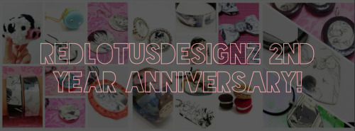 It's been two years since we started our website and shop! To celebrate our anniversary (from now until  February 9th), with every order you will receive a FREE RANDOM PENDANT NECKLACE (worth $13.00)! How cool is that? Thanks to everyone who supported us along the way :) We love you guys!   Shop here: http://RedLotusDesignz.etsy.com