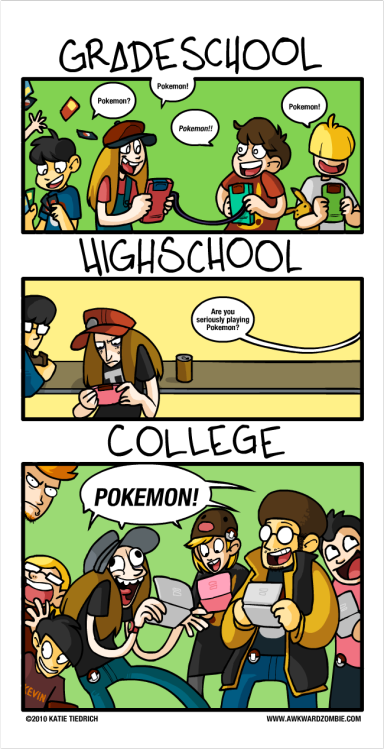 atticuslovegood:  theboyinthesun:  The Pokemon Effect, by Katie Tiedrich  Pokemon is the shit now. We have a club and we had a tournament this semester
