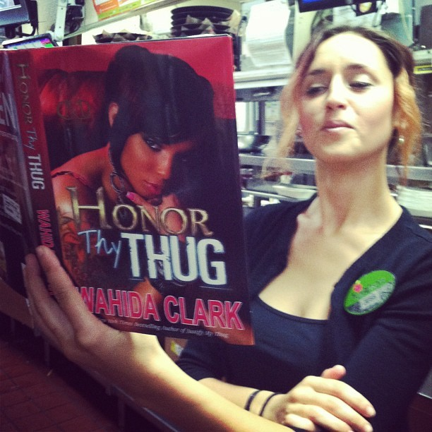 Just a little bit if light reading before my shift #honorthythug