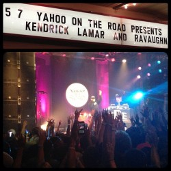 @KendrickLamar last night at @BogartsShows
