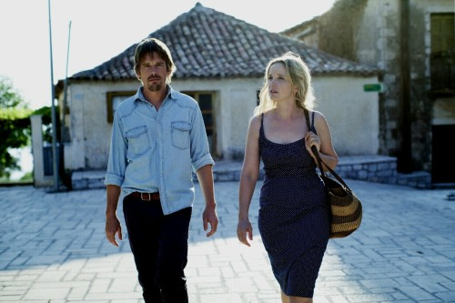 "Scene from the third movie in the Before Sunrise/Before Sunset series, ""Before Midnight.""  Just debuted at Sundance and has been getting incredible reviews."
