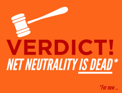 "chakrabot:  slitheringink:  artofcarmen:  fyeahwhovians:  raygender:  themediafix:  Breaking news: The D.C. Appeals Court just killed Net Neutrality.This could be the end of the Internet as we know it. But it doesn't have to be. Tell the FCC to restore Net Neutrality: http://bit.ly/1iOOjoe  they want to make the internet like tv. with channels and paying to get to specific websites and things. net neutrality = not doing that  This impacts every internet user. Please signal boost the hell out of this and sign the petition if you are American  I do not reblog things like this very often, but this affects me both personally and my business as a freelance artist. In the economy here; cash is already strapped as it is. You bet your ass companies would suck the ever living life out of misc. art sites. I don't want it to ever come down to me choosing between groceries or purchasing a new tier package via comcast to be able to access tumblr or DeviantArt (let alone not guaranteeing I'll even be seen by my customer base since they may not want to pay out their asses either). It doesn't seem important to most, but I do 90% of my business online entirely. Please sign up, fight for this and share it with your followers/friends/family and urge them to give them hell as well.  Not writing related, but this is incredibly important. While we pay for service via ISPs, the internet has been a relatively free space where everyone, no matter their income level, is able to connect, access a wealth of information, and express themselves. The Internet has become a major part of our culture as human beings and the notion that ISPs might be able to limit what sites I can access unless I pay them more is utterly sickening. A lot of us are cash strapped as is, and I'd rather not be limited even more by someone else's greed. Net Neutrality is essential and I hope you guys will understand why it needs to remain. -Morgan P.S. Signal boost this if you're able.  "" limit what sites I can access unless I pay them more""  limit what sites I can access unless I pay them more  limit what sites I can access unless I pay them more  limit what sites I can access unless I pay them more  limit what sites I can access unless I pay them more DO YOU WANT THIS? NO?? CLICK THE LINK. REBLOG."
