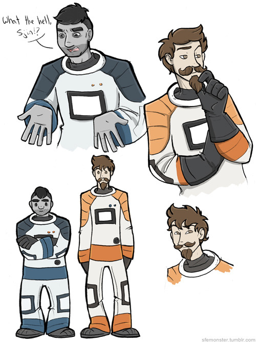 I Took A 20 Minute Break And Coloured Some Yogscast Sketches: the life- the legend.