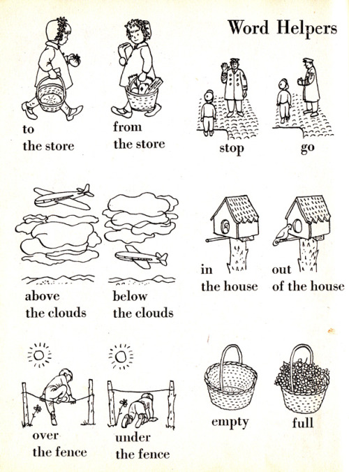 explore-blog:  The Little Golden Book of Words, 1948