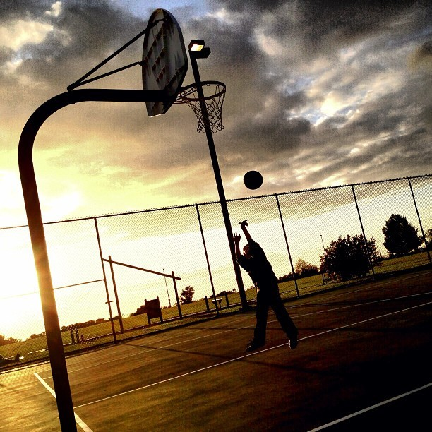 marquisderad:  Hoop dreams. (at Hilltop Community Park (Rancho Penasquitos))