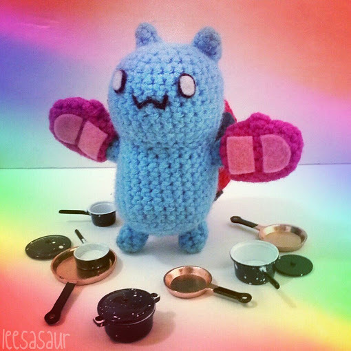 Cooking with Catbug!  Submit your fan art to Cartoon Hangover to have it featured on the blog Great work leesasaurcave on the Catbug craft!