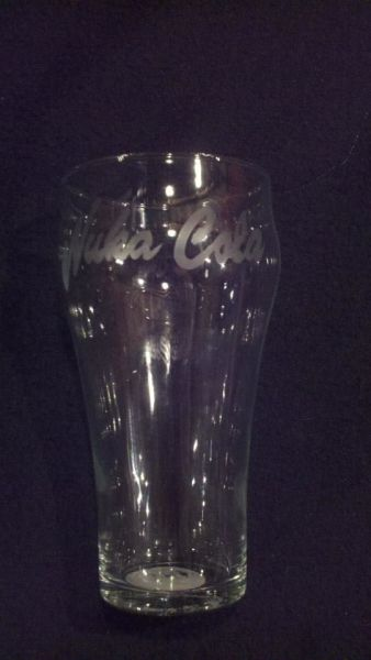 Nuka Cola Etched Glass