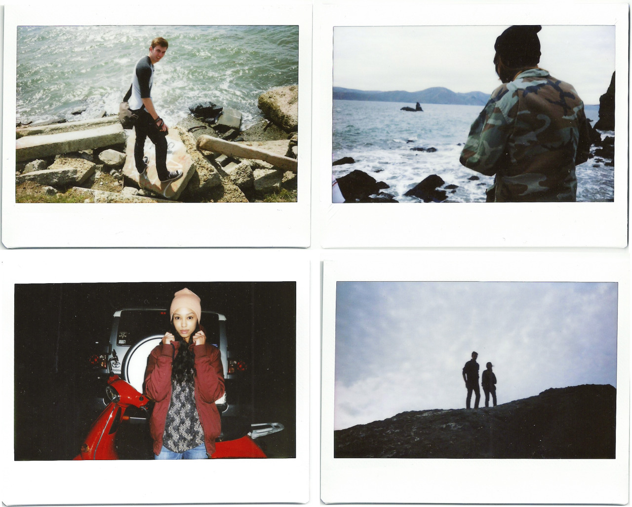 Some recent polaroids from my time on Spring Break.