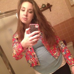 My new jacket came! #jacket #floral #lovesit #nofilter