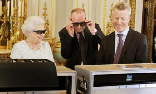 "Britain's Queen Elizabeth goes 3D for Olympics tribute   Britain's Queen Elizabeth will use her traditional Christmas Day message, filmed in 3D for the first time, to pay tribute to the world's athletes for delivering a ""splendid summer of sport"" at the London Olympics. In her personal address to the nation, the monarch will pay tribute to the competitors' ""skill, dedication, training and teamwork"", her office said on Monday. The 86-year-old head of state provided an Olympic highlight when she made a surprise comic turn with James Bond actor Daniel Craig in a short film for the opening ceremony. ""In pursuing their own sporting goals, they gave the rest of us the opportunity to share something of the excitement and drama,"" she will say, according to advance extracts. Queen Elizabeth missed a church service at her country retreat on Sunday due to a cold, Buckingham Palace said. Her message was pre-recorded and will go out as expected. It comes at the end of a landmark year for the royal family. Queen Elizabeth marked 60 years on the throne with the Diamond Jubilee celebrations and her grandson Prince William and his wife Kate are expecting their first baby. Prime Minister David Cameron issued his own Christmas message in which he talked of Britain's ""extraordinary year"". ""We cheered our queen to the rafters with the Jubilee, showed the world what we're made of by staging the most spectacular Olympic and Paralympic Games ever and - let's not forget - punched way above our weight in the medals table,"" he said. The first Christmas broadcast was given by Queen Elizabeth's grandfather George V in 1932. It has become a Christmas Day tradition for many families to watch it together after lunch."