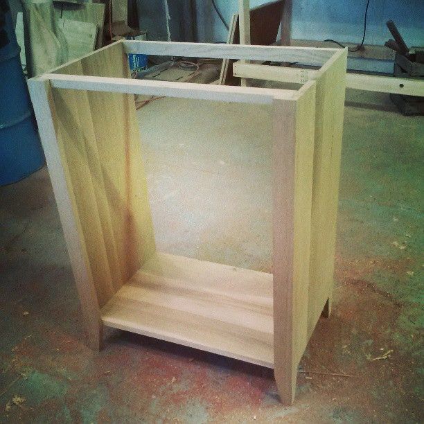 Built a carcass today at Dinderbeck. #Furniture #design #woodworking #Wood #woodshop