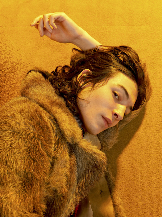 wolf-cub:  ezra miller by david balicki; hôtel lancaster, paris, january 2012