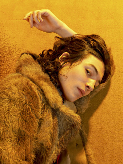 ezra miller by david balicki; hôtel lancaster, paris, january 2012