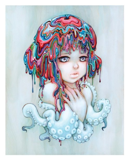 lacarpa:   Pop Surrealism and Comic Artist Camilla d'Errico