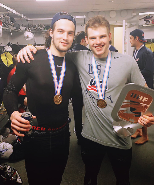 Bronze !! With my boy @JohnGibson35