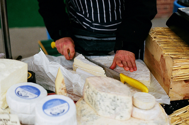 BLOGGED // Meet the Cheese People at Harringay Market.  Cheese-tastic!