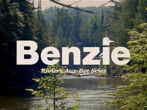 "Organized in 1969, the name ""Benzie"" is derived from the French Riviere Aux-Bec Scies or ""river of sawbill ducks"" (bec-scie). 10/83"