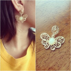 Order #127 NEW One Piece Accent Butterfly Earring  $1.75  A complete form must be sent to me.  Order Form: Name: Contact no.: Shipping Address: Order #: Item name: Payment Option (Paypal/Cash):   NO CANCELLATION OF ORDERS!