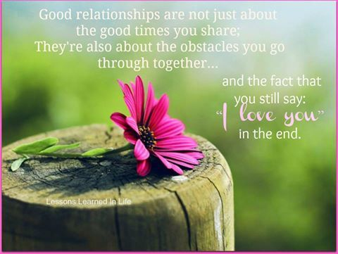 Good relationships are not just about the good times you share  Follow best love quotes for more great quotes!