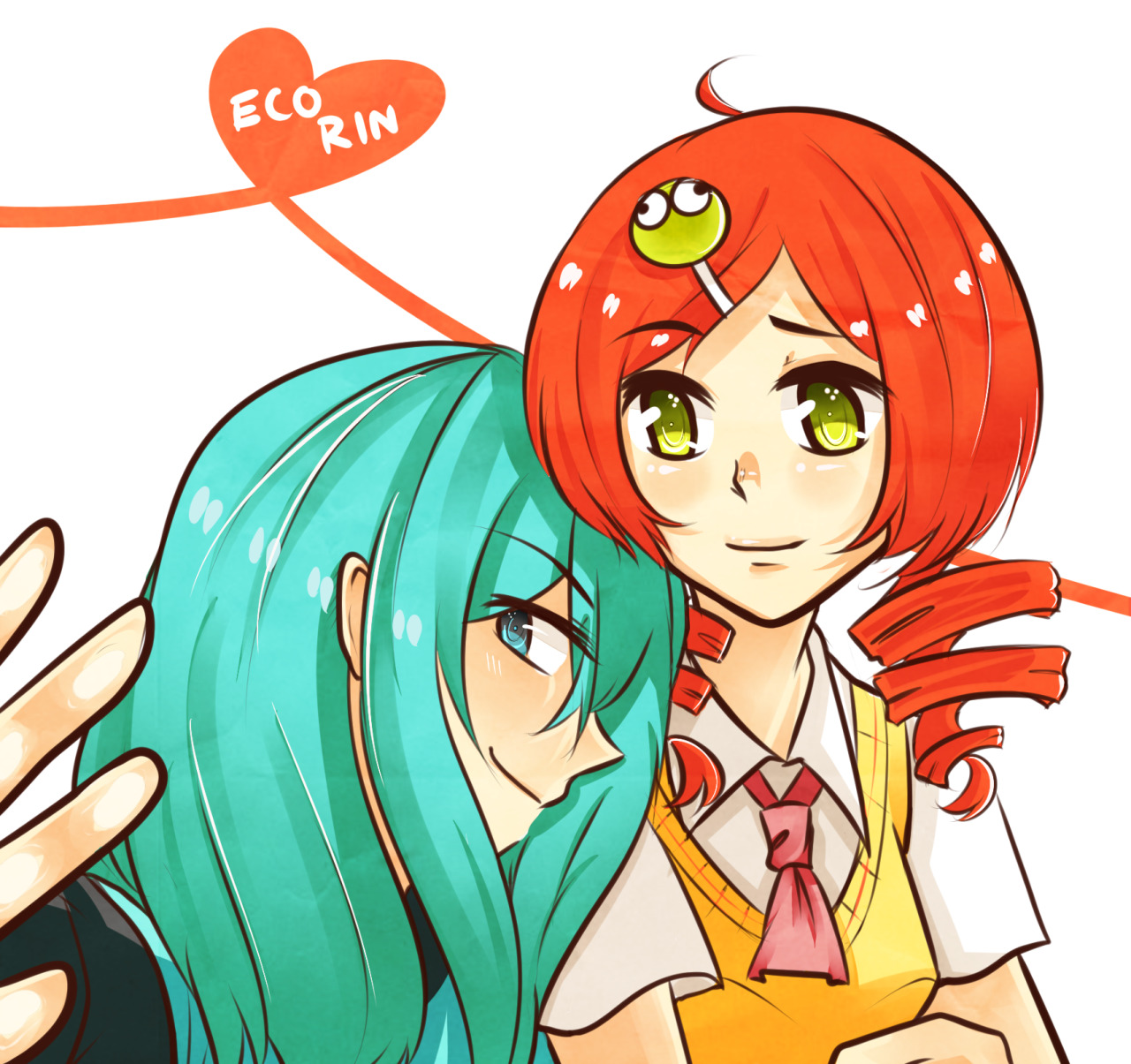 mishadraws:  EcoRin for Kei ^ q ^/// SHE DESERVES ALL THE ECORIN IN THE WORLD !!!!!!!!!!!!!!!  aldksldkslksdl criesssss Sometimes I wonder why we both lives so far away overseas alkdslkslfkdlfdlkglkf Is there anyone else who loves Ecorin more than meXD Actually I'll be kina happy if there isXDD