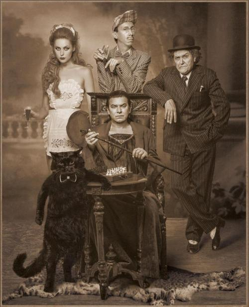 Margot, Azazel, Behemoth and company.
