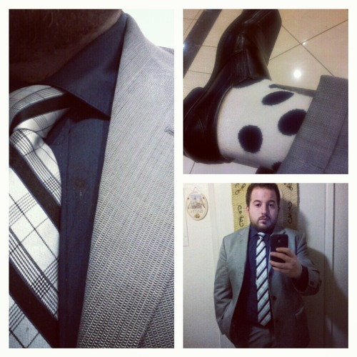 bigguyflyy:  Meet Michael D'Amico! 24, San Jose, Ca. Most of my clothes are purchased at Nordstrom rack and Nordstrom but I also like thrift shops and such. My favorite articles of clothing are on my feet, socks and shoes. Check out his Instagram for more great fashion posts @sirmichaeldamico. Bebowfashions has the socks that will turn up any outfit!!! Email me for more info!
