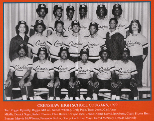 Hall of Famer Darryl Strawberry (second to last, middle row) was born on this day in 1962.