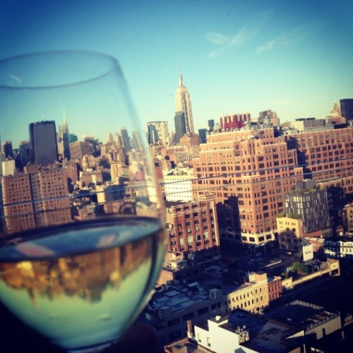 Cheers to you NYC.