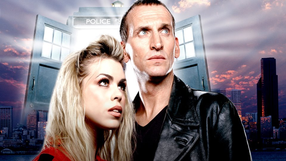 There's a Doctor Who Series 1 marathon on Watch, starting with 'Rose' at 2pm (Sky 109, Virgin 124).