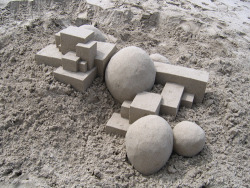 drunj:  Sand Castle 2 (March 2006) by box builder on Flickr.