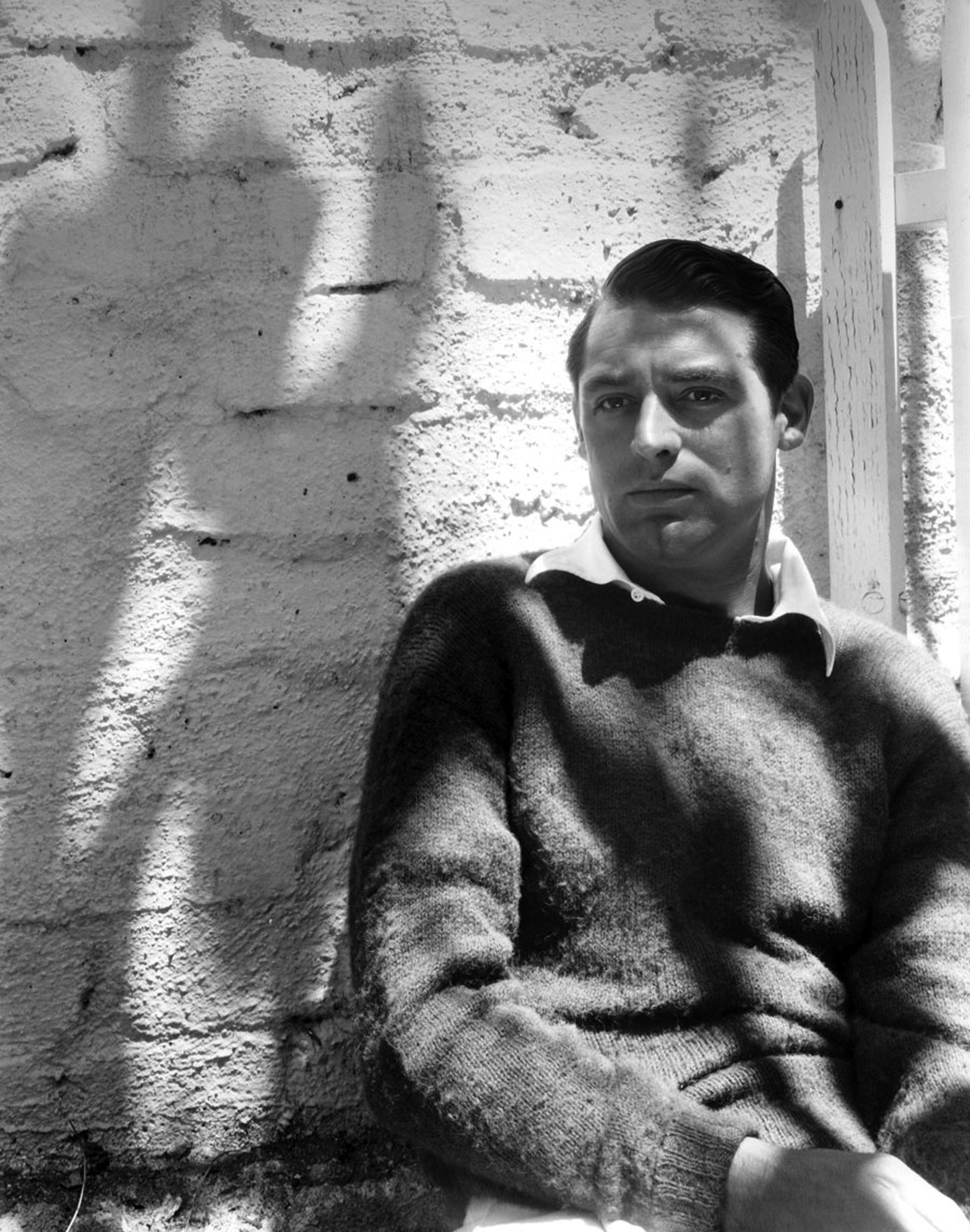 Knits For The Chill 56. Cary Grant, by Imogene Cunningham, 1932.