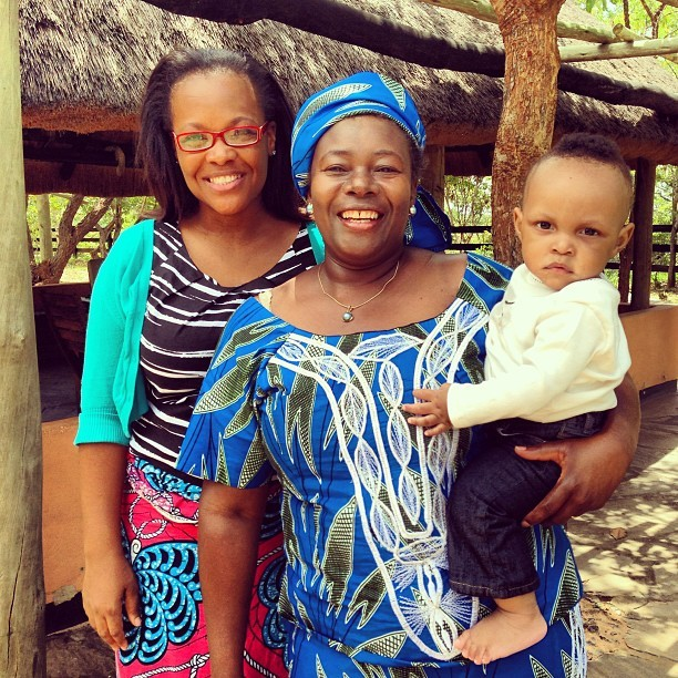 Ingrid, Mom, and Lwethu! #lusaka #ranch #zambia #home  (at Ngoli Game Ranch)