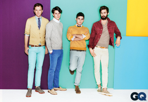 Get Faded with Vampire Weekend The secret to wearing bold colors…