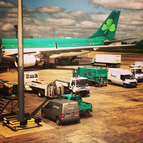 Flying back to Boston (someone pick me up) (at Shannon Airport - U.S. Preclearance)