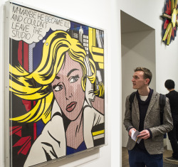 Last weekend I went to the Roy Lichtenstein exhibition at the Tate in London - it was AWESOME.