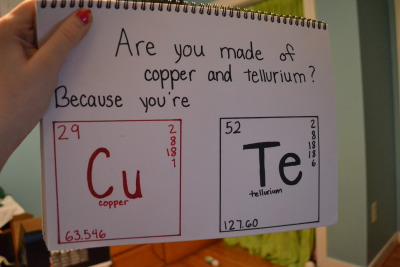 inhalek3llin:  sh4m-wow:  god I love chemistry jokes  same