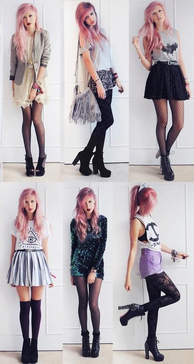 nathalia-spn:  Who else likes grunge fashion?